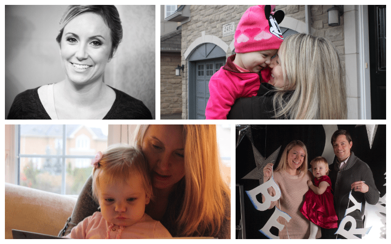 collage of ceo rebecca mckillican and family