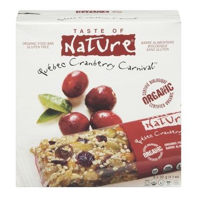 Taste of Nature Food Bars