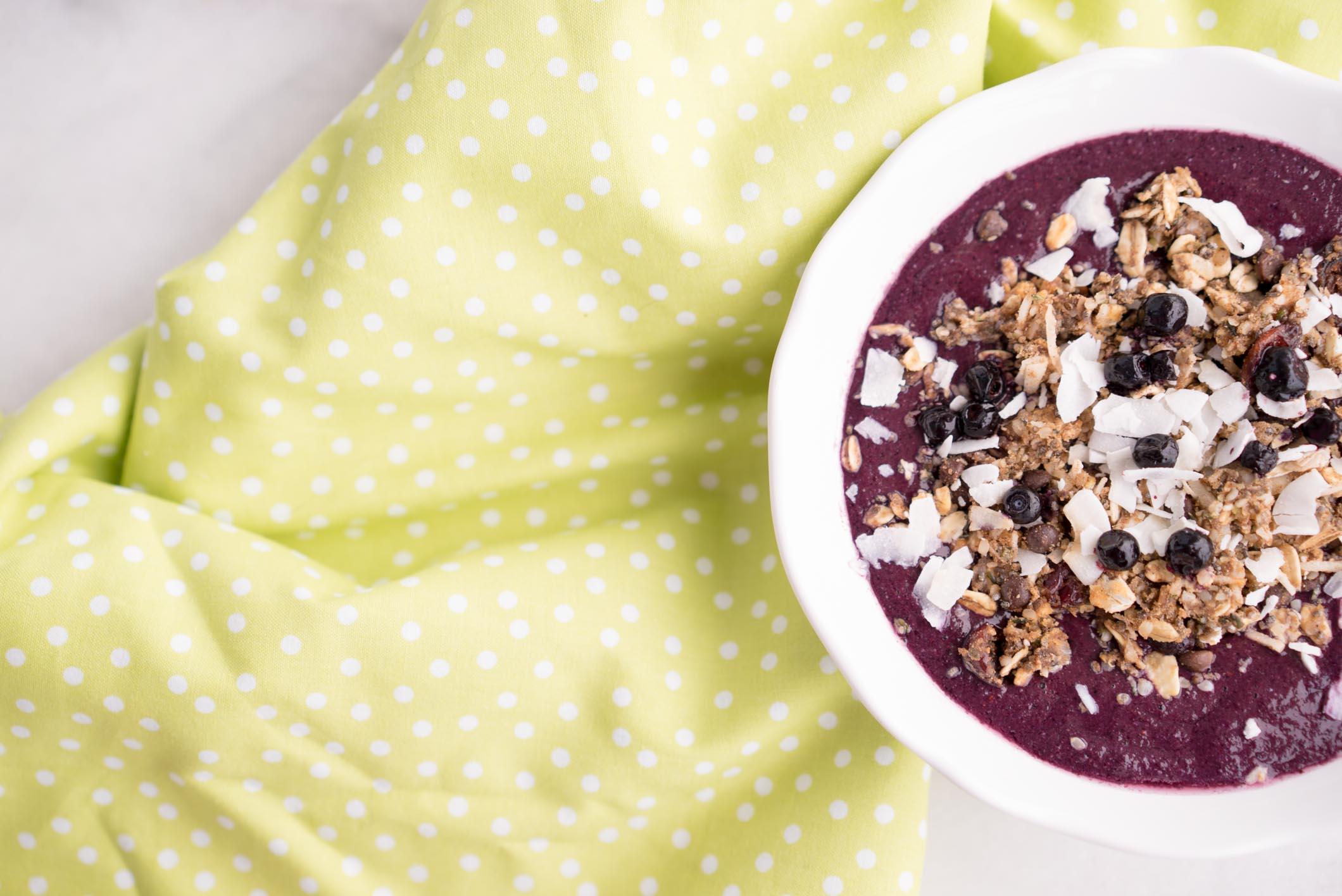 Blueberry Bliss Smoothie Bowl Recipe Joyous Health