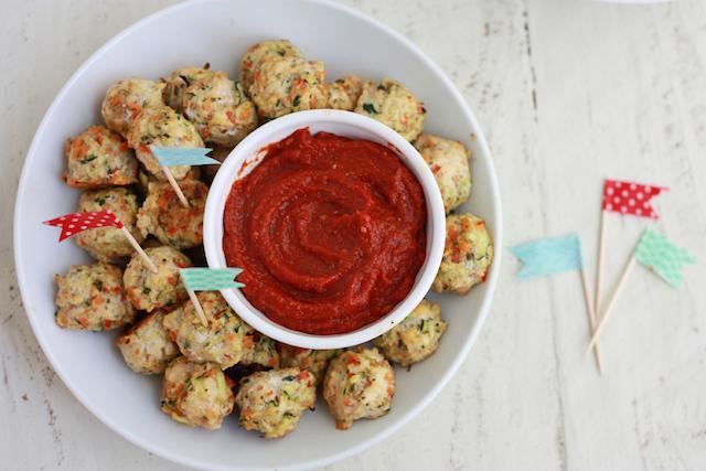 Pesto Chicken Veggie Meatballs Super Healthy Kids
