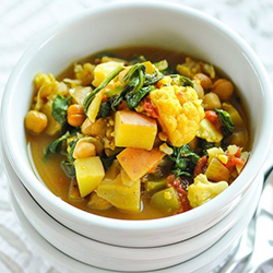 Curried Vegetable and Chickpea Stew by The Kitchn