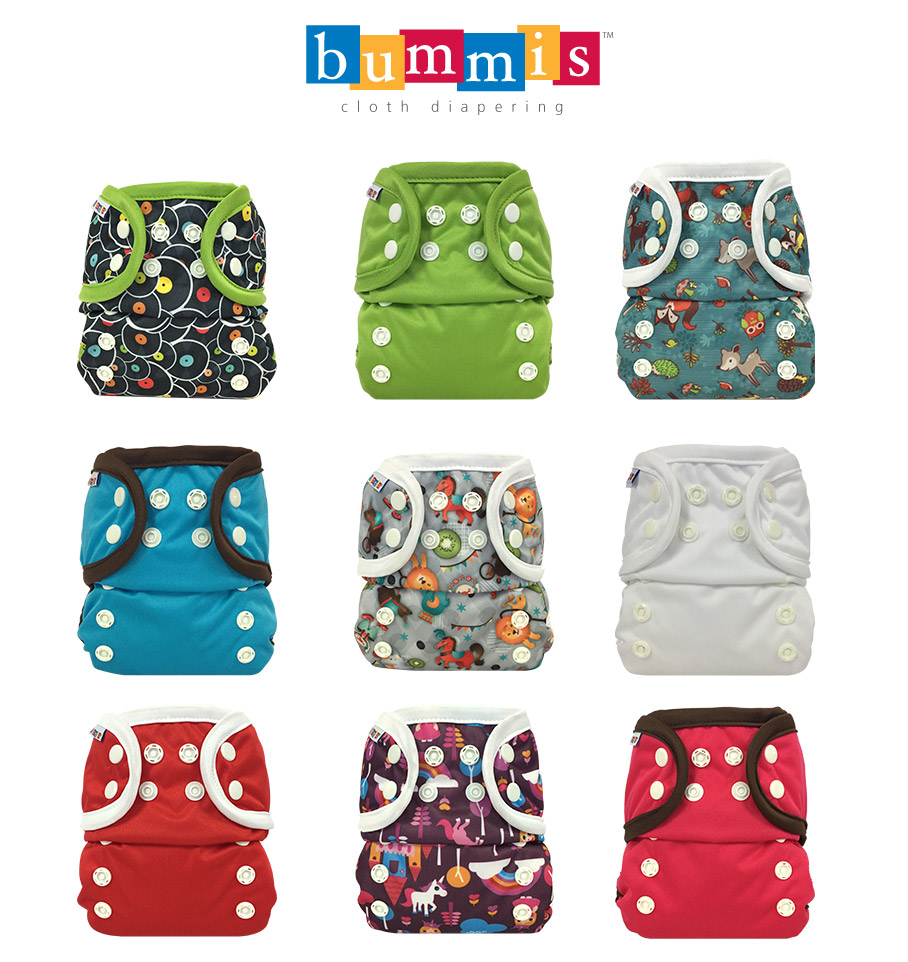 Bummis All-in-One Cloth Diaper