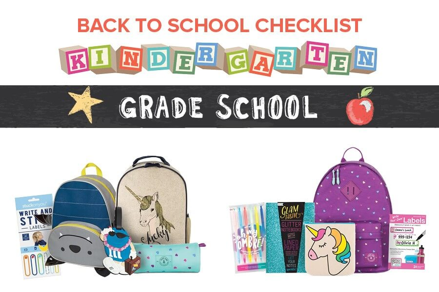 Back to School Checklists for Kids