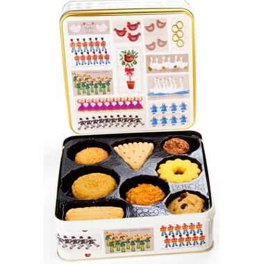 Farmhouse Cookie Tin Biscuit 12 Pack