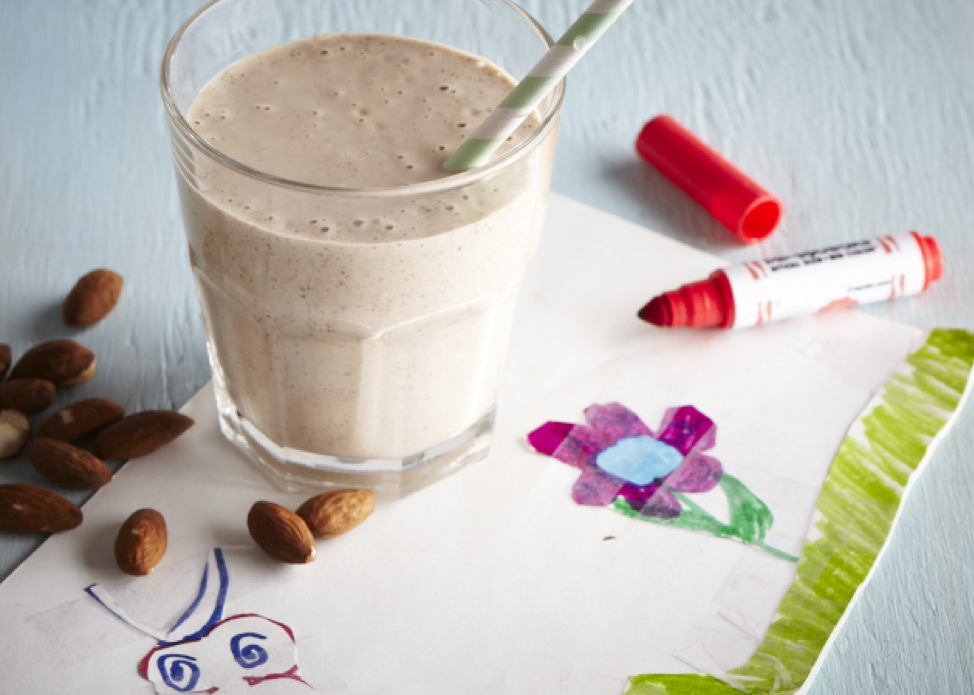 Almond Joy Smoothie from Sweet Potato Chronicles