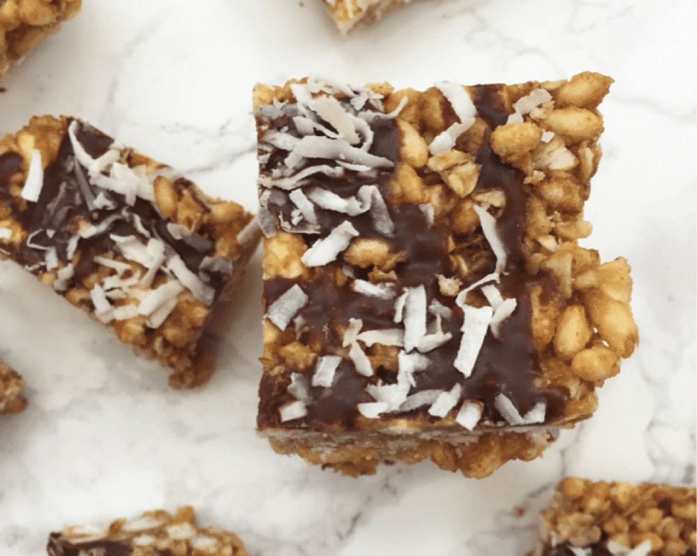 Almond Butter Rice Krispies from Nakd Health