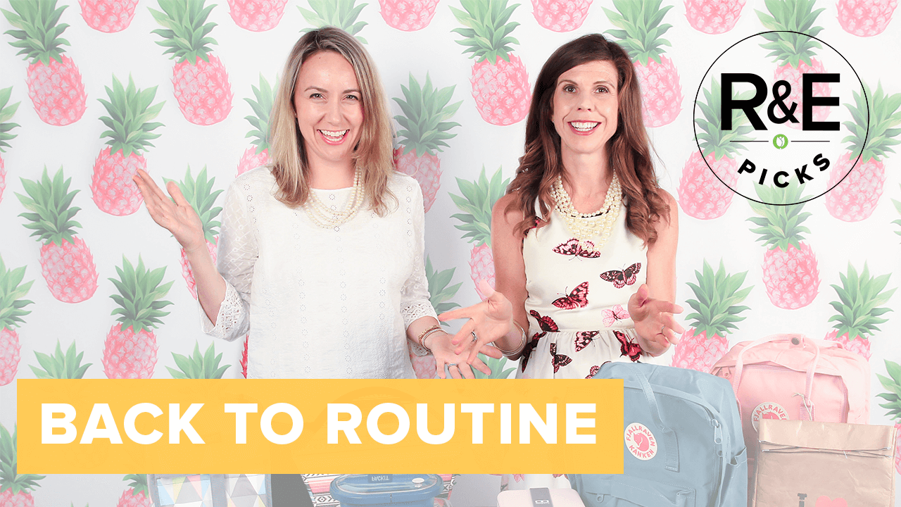 rebecca & erin's back to routine picks thumbnail