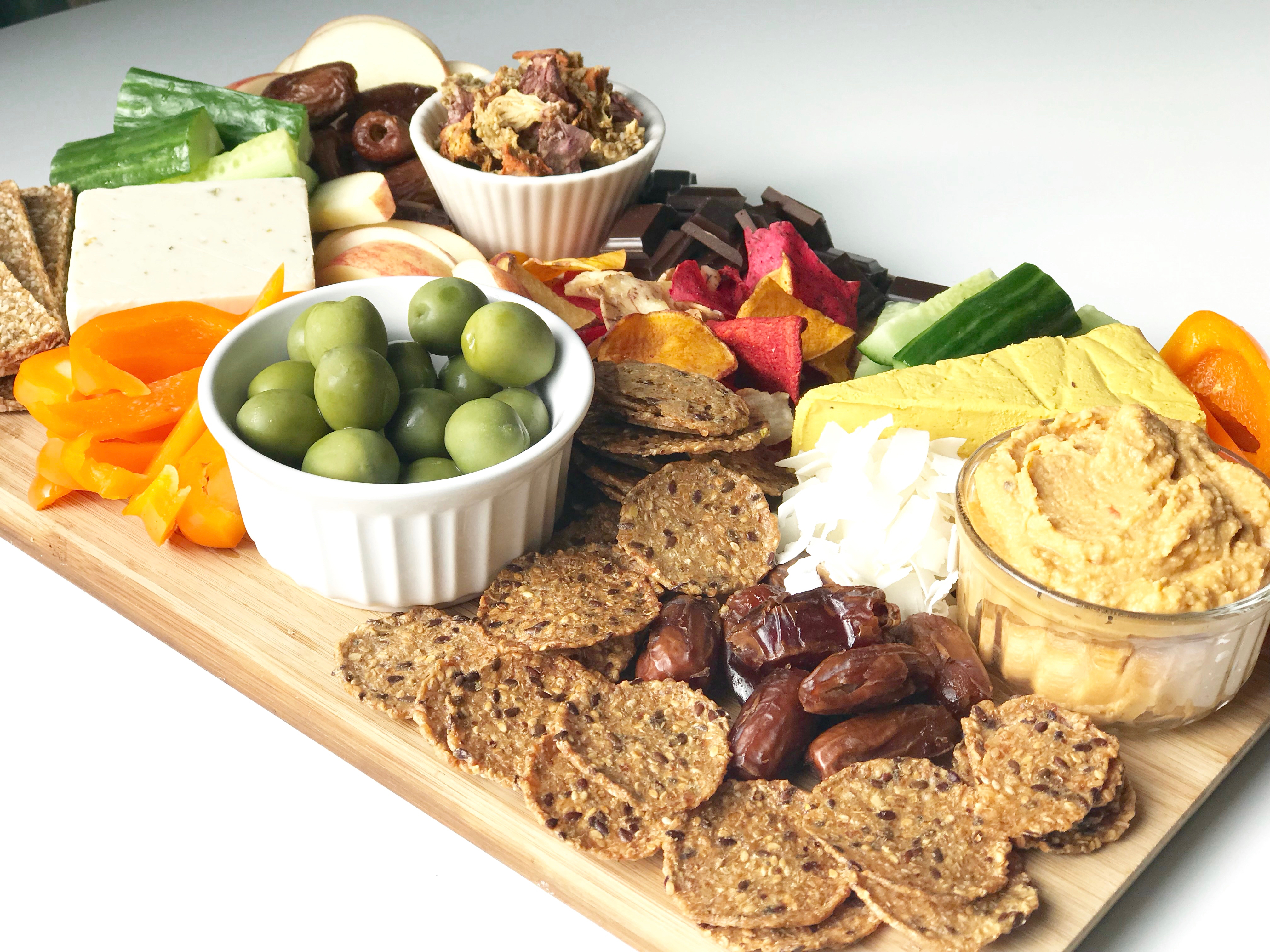 Charcuterie Board - Vegan
