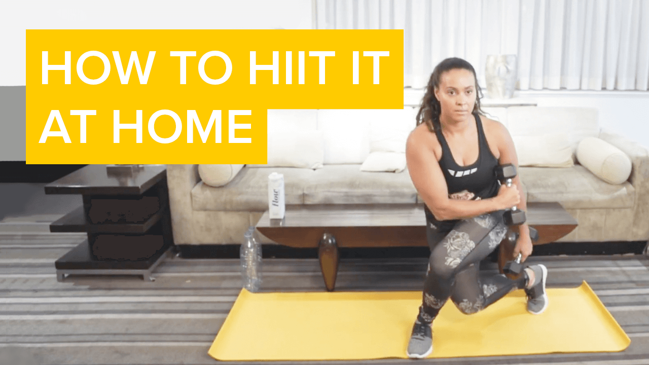 how to hiit it at home
