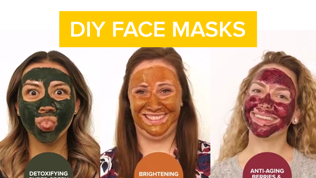diy face masks video thumbnail