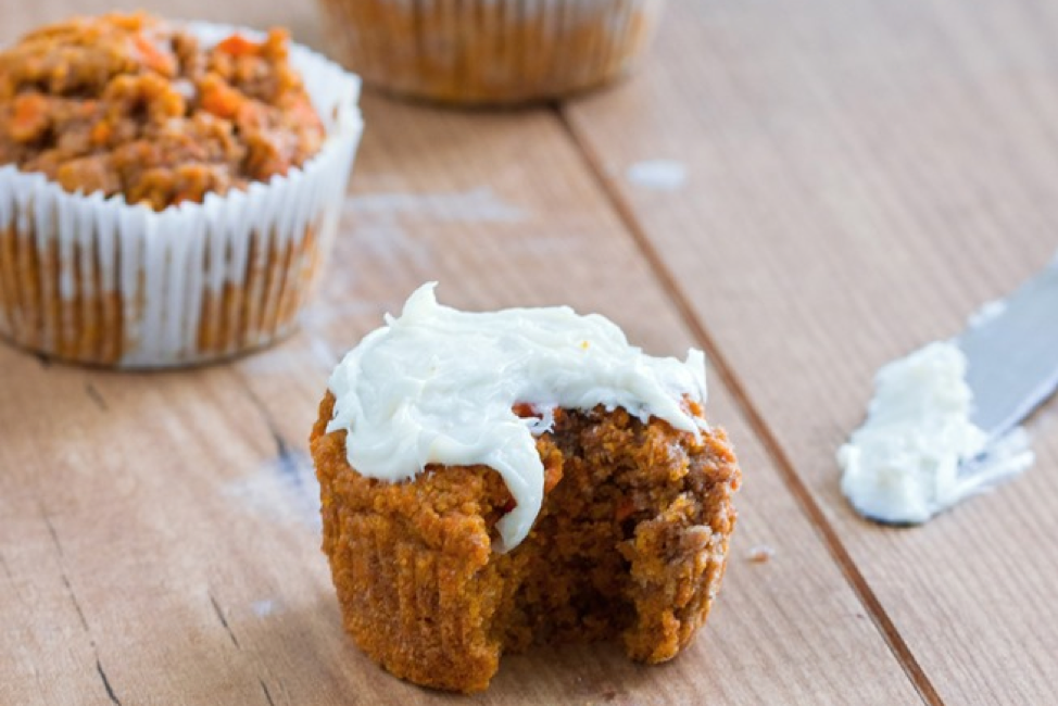 Carrot Cake with Creamy Frosting - Photo: ChocolateCoveredKatie.com