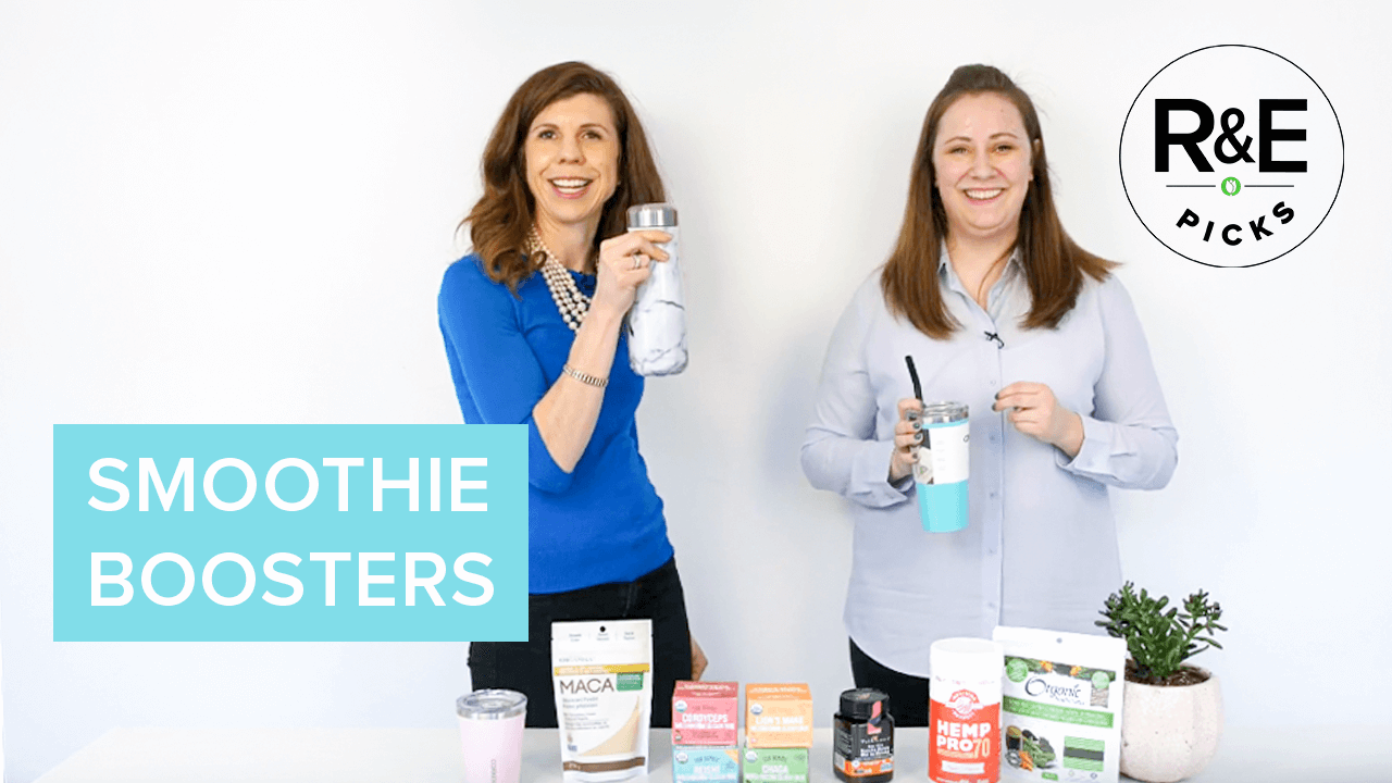 rebecca & erin's picks - smoothie boosters