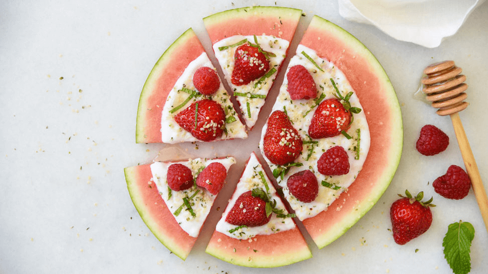 Manitoba Harvest Berry Hemp Heart Watermelon Pizza