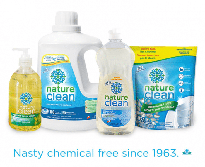 Nature Clean Laundry Products