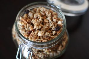 Grain Free Vanilla Granola from Against All Grain
