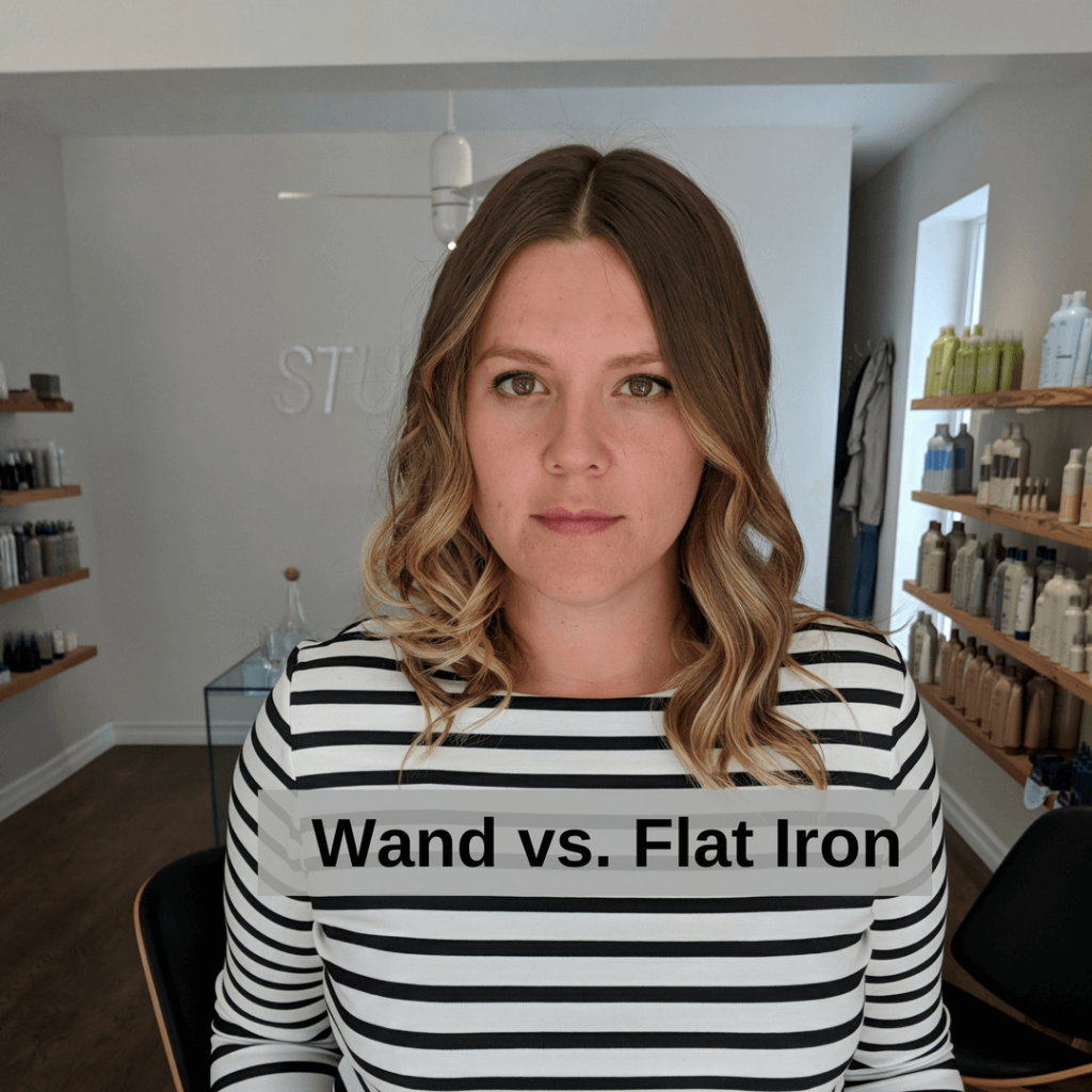 Wand vs Flat Iron
