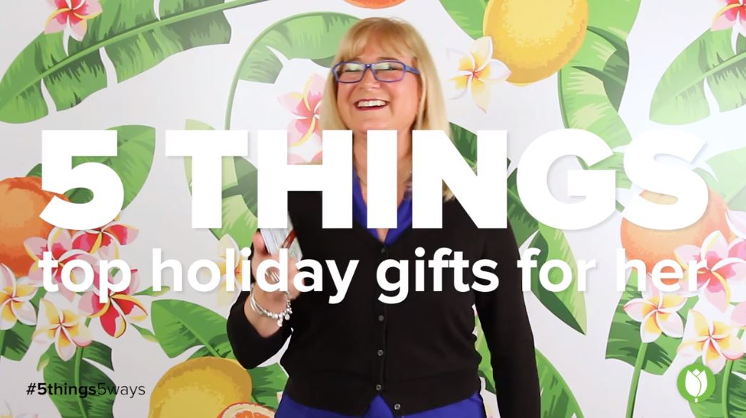 lisa's top 5 holiday gifts for her thumbnail