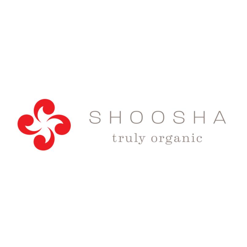 shoosha truly organic logo