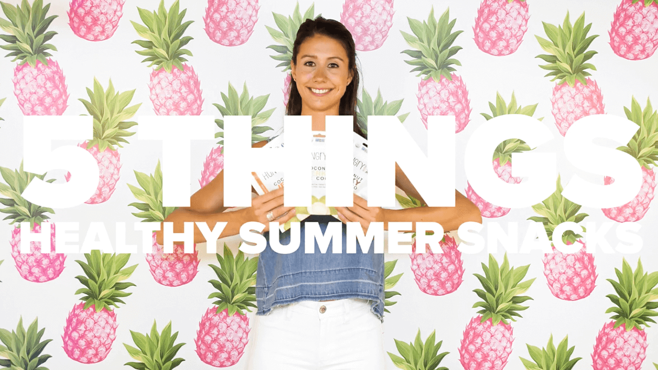 healthy summer snacks thumbnail