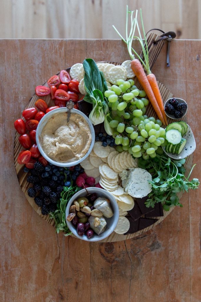 Red Lentil Hummus Dip from Food By Maria
