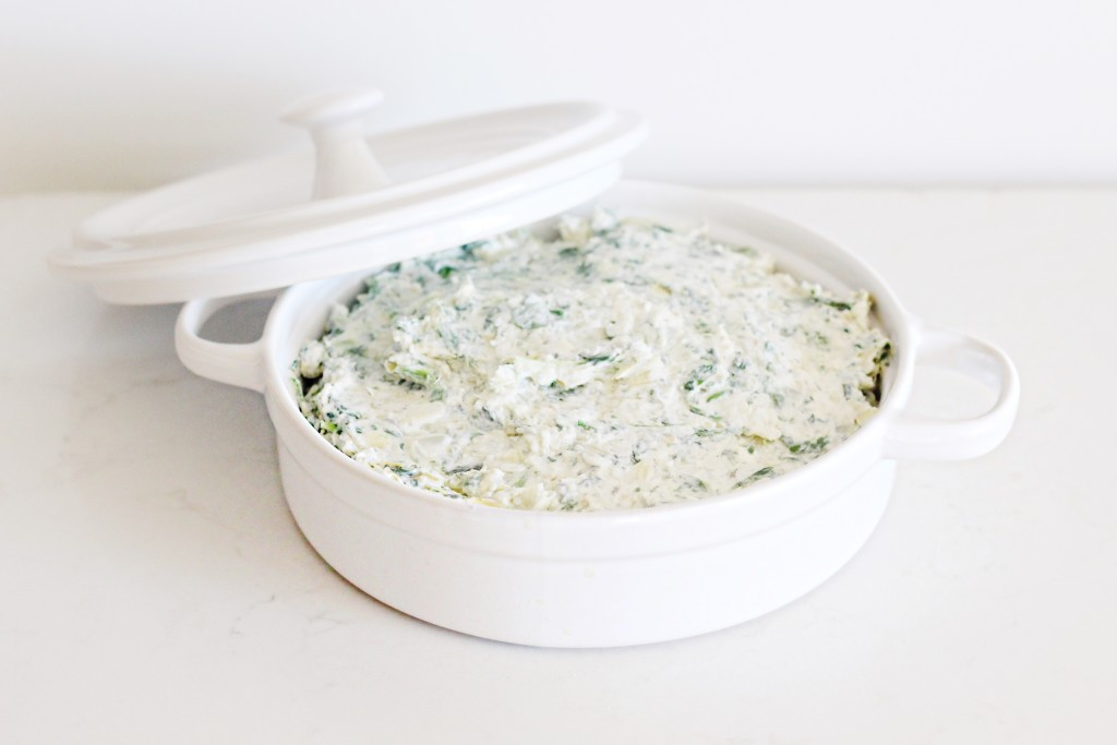 Spinach Artichoke Dip from Fraiche Nutrition