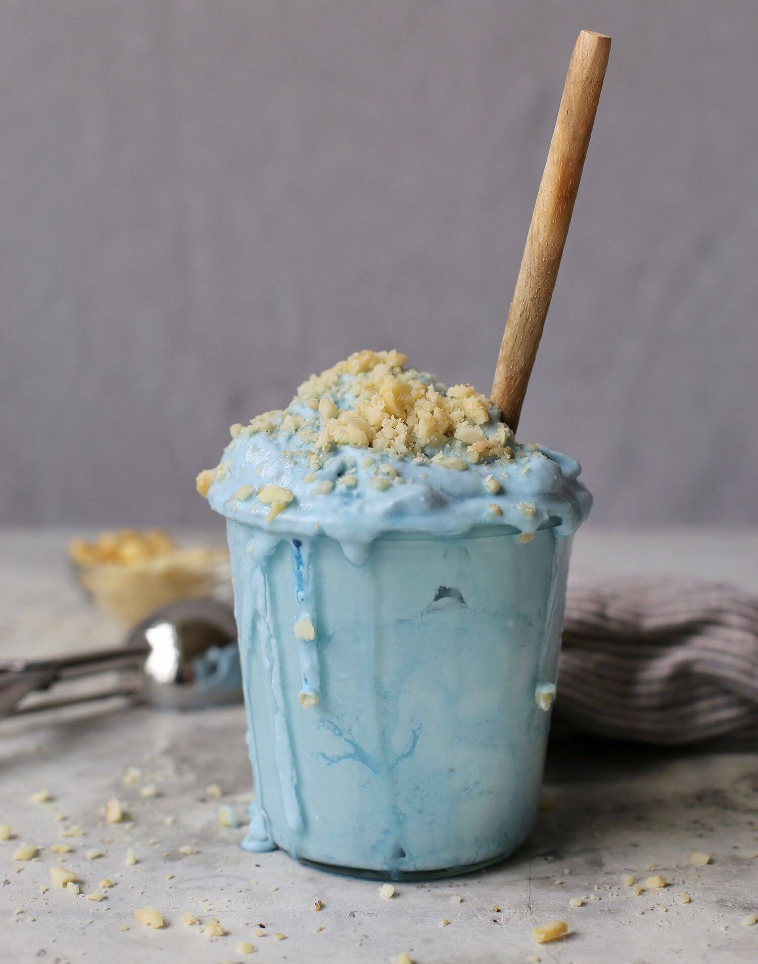 Blue Coconut Ice Cream from To Die For