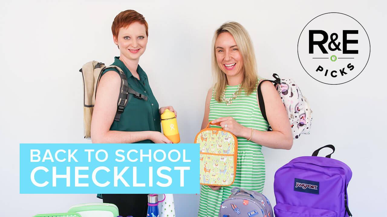 rebecca & erin's back to school checklist