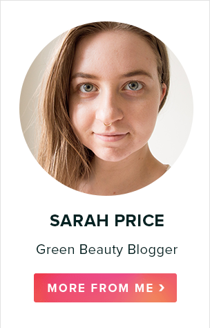 Sarah Price, Green Beauty Blogger