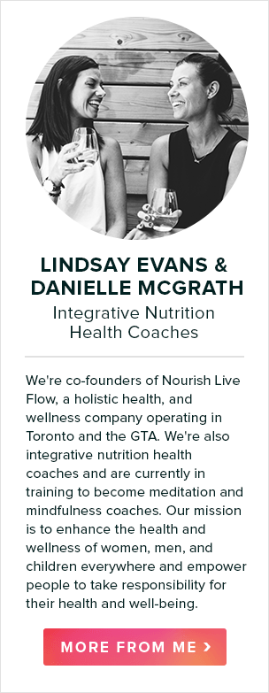 lindsay evans & danielle mcgrath, integrative nutrition health coaches
