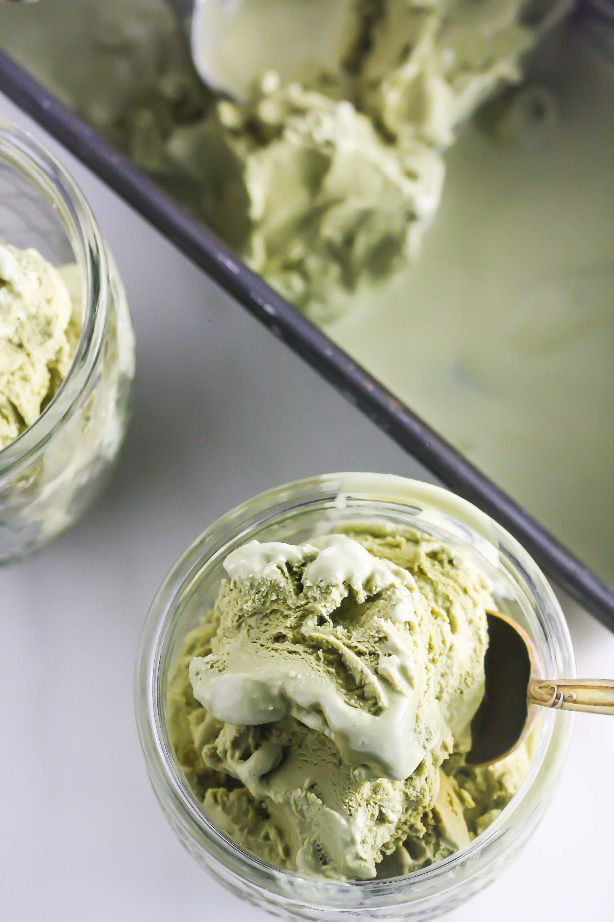 Matcha Coconut Ice Cream from Lauren Kelly Nutrition