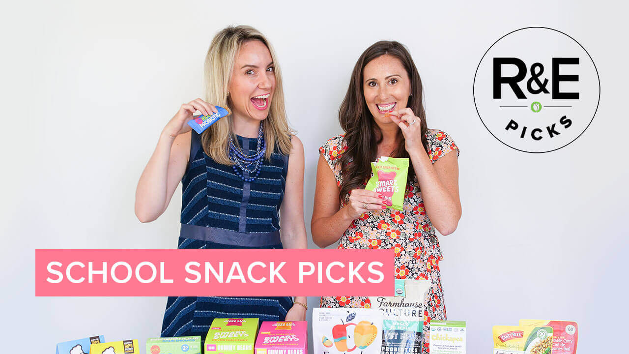 rebecca & erin's school safe snack picks