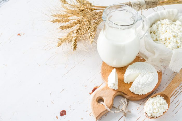 food allergens such as wheat and dairy