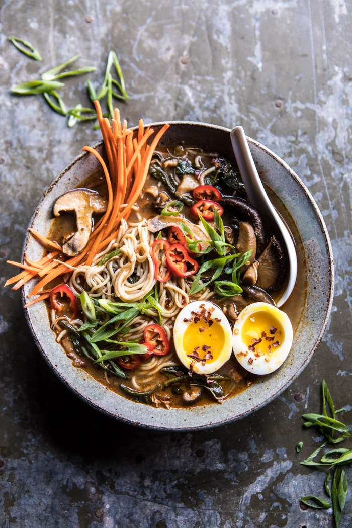 Better For You Instant Pot Chicken And Spinach Ramen From Half Baked Harvest