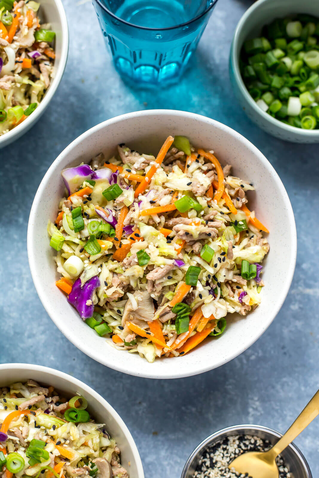 Low Carb Instant Pot Egg Roll In A Bowl From The Girl On Bloor