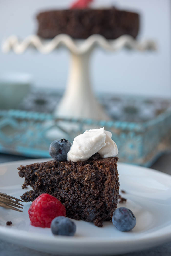 Instant Pot Paleo Chocolate Cake From Thriving On Paleo