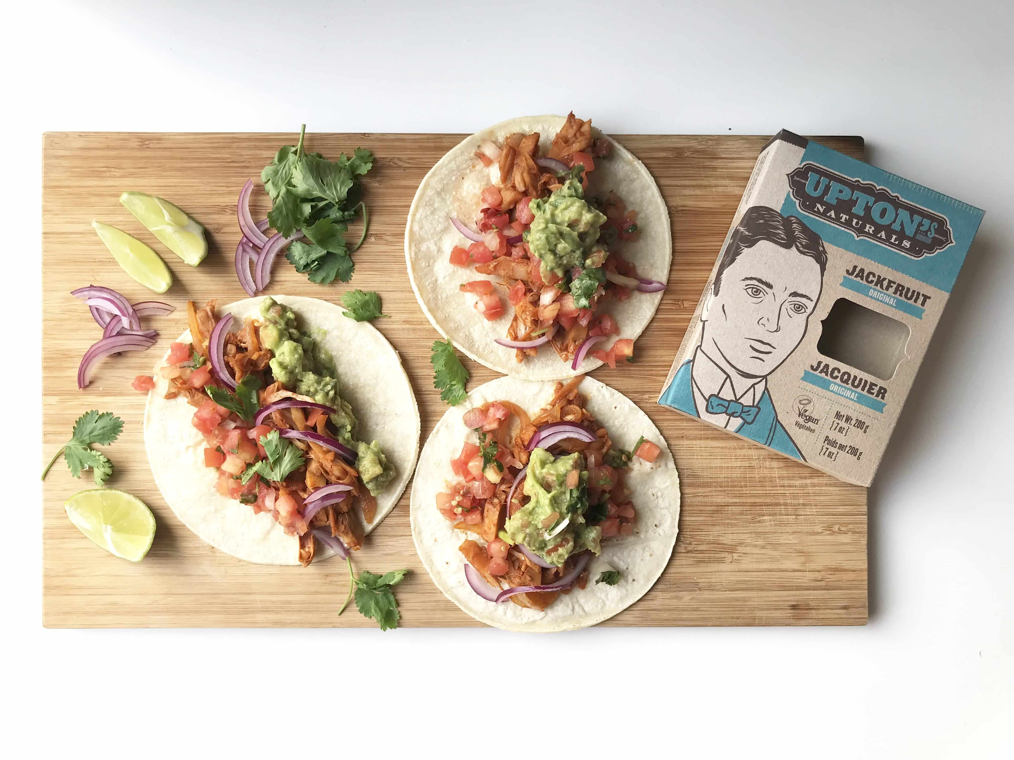 Jackfruit & Black Bean Tacos