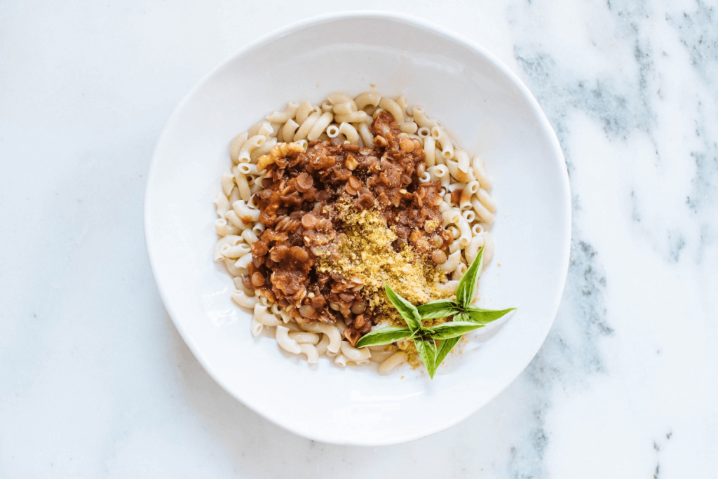 Plant Based Lentil Bolognese from Nutrition Stripped