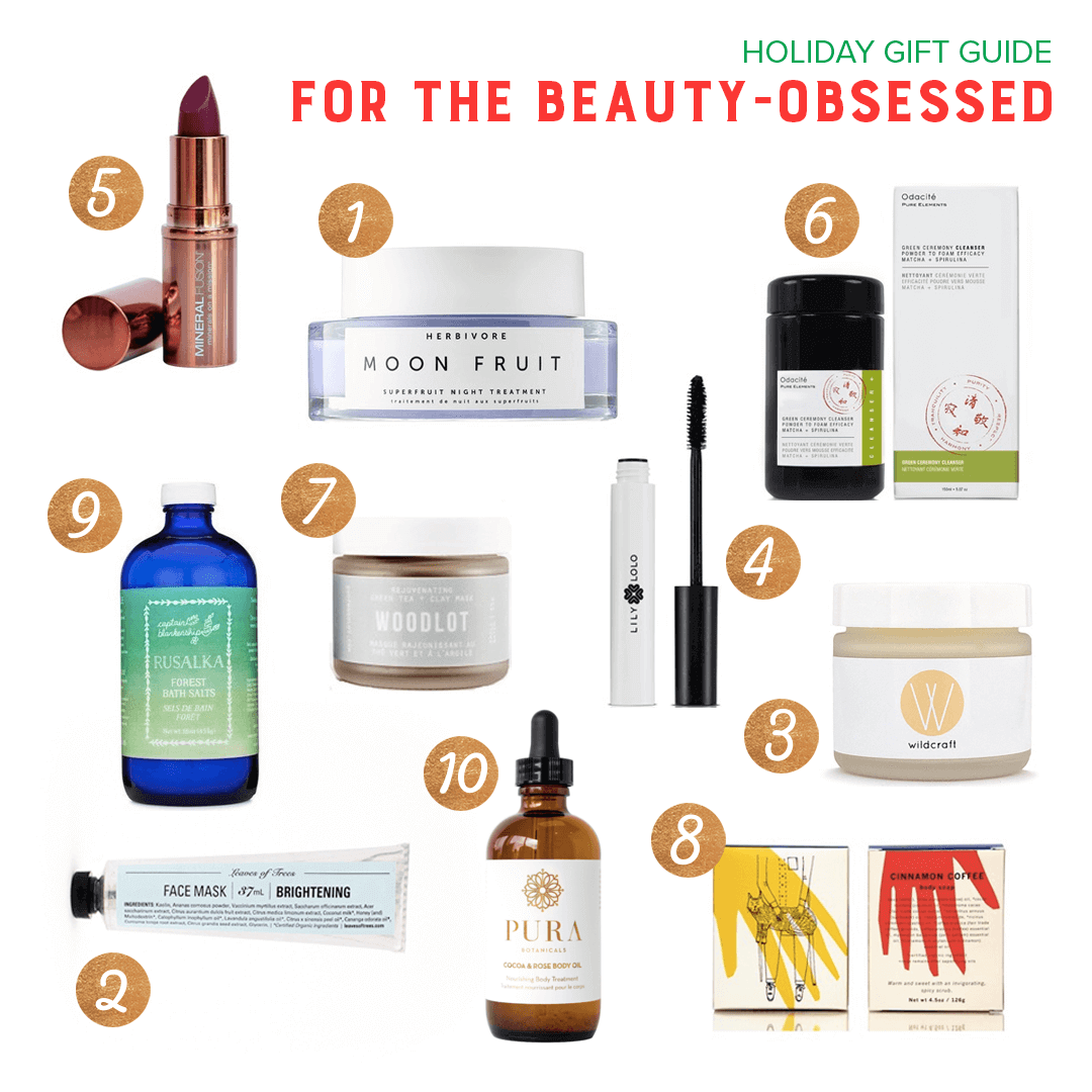 gift guide beauty obsessed