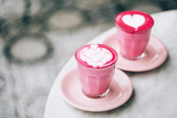 beetroot lattes