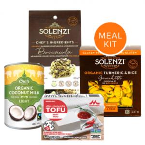 Vegan meal kit