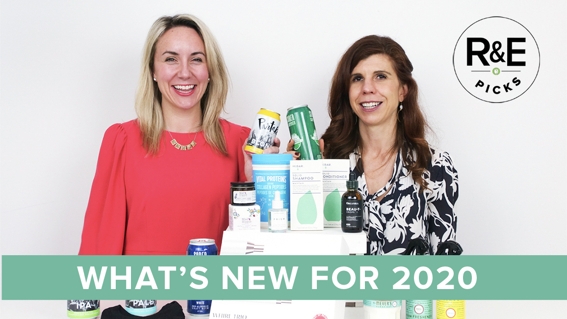 Rebecca & Erin with new products for 2020
