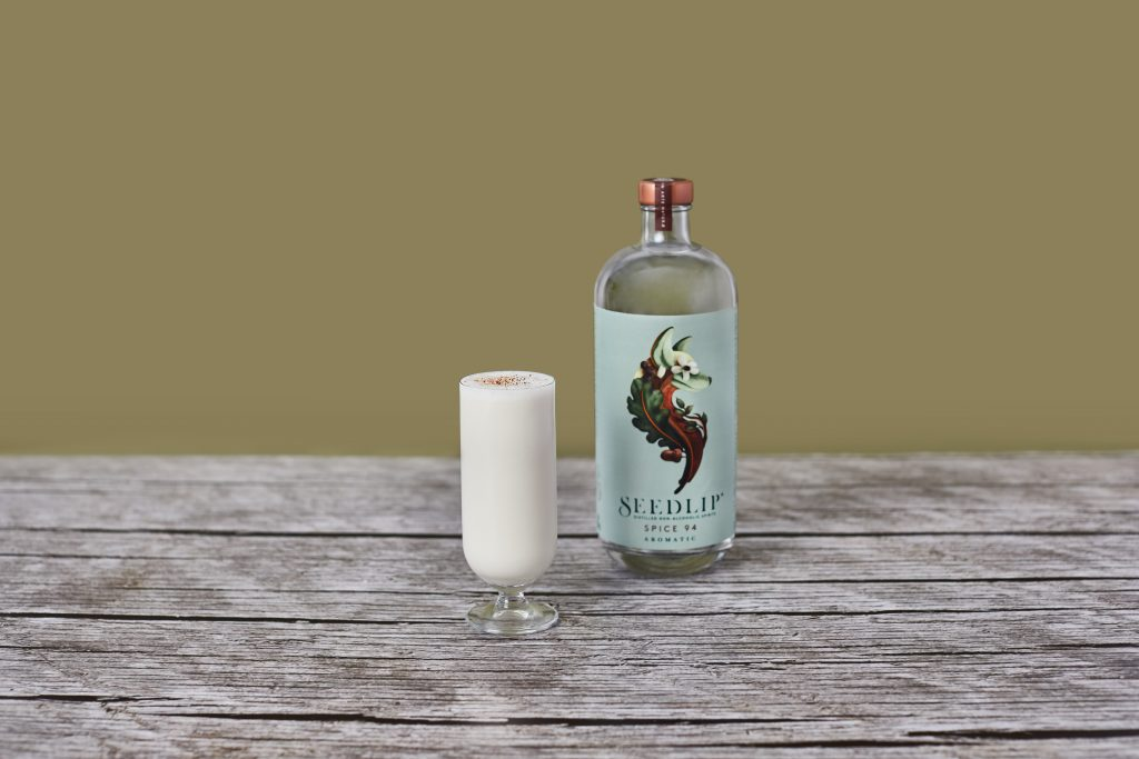 Seedlip Eggnog cocktail