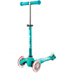 blue and pink scooter for kids