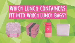 Which Lunch Containers Fit Into Which Lunch Bags?